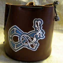 "Rune bag ""Letter from manuscript"""