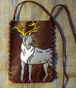 "Cover for mobilephone ""Deer"""