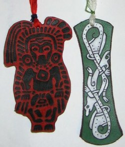 "Bookmarks ""Indian and Drugon"""
