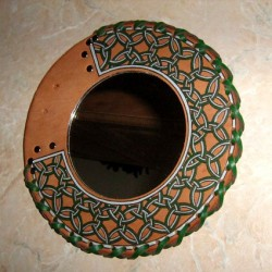 "Mirror ""Green pattern"""