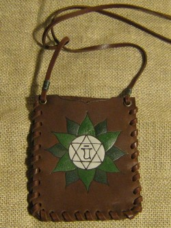 "Cover for mobilephone ""Mandala of Anahata"""